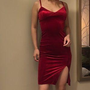 New Forever21 Velvet Cami Dress